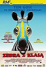 Zebra z klas� Racing Stripes