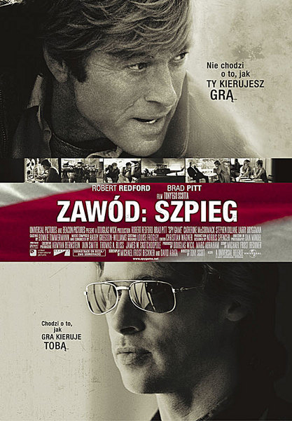 Zawód Szpieg / Spy Game (2001) DVD5.PAL.PL-NoGrp | Lektor PL