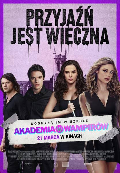 Akademia wampirów - Plakat