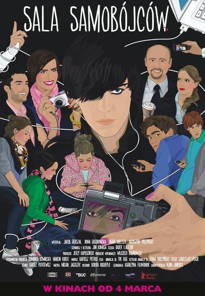Plakat filmu 'Sala samobójców'
