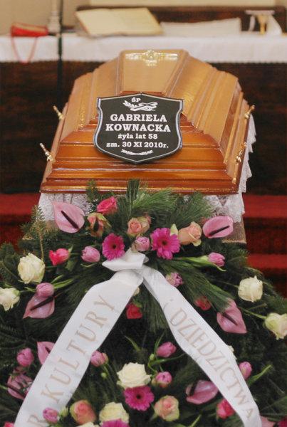 Pogrzeb Gabrieli Kownackiej