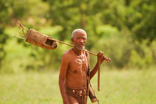 San People- Buszmeni Afryki Południowej
