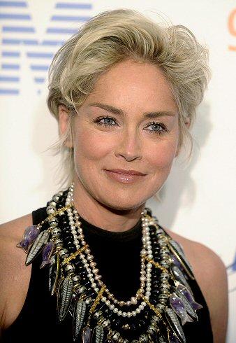 Sharon Stone przylecia�a do Polski
