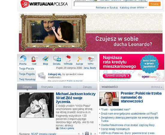 wirtualna polska wiadomości