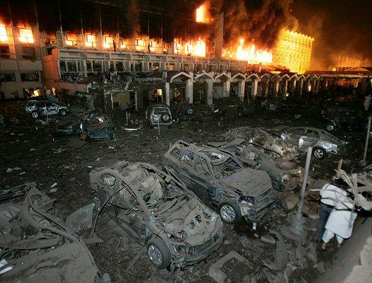 Zamach Photo: Potworny Zamach Przed Marriottem