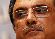 Prezydent Pakistanu Asif Ali Zardari