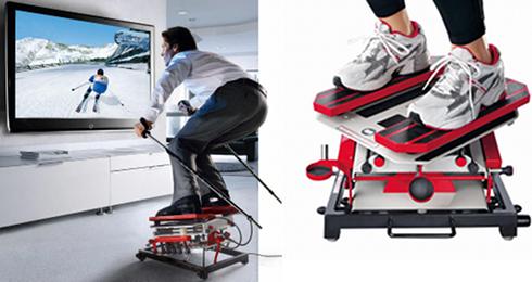 SKIGYM - symulator jazdy na nartach