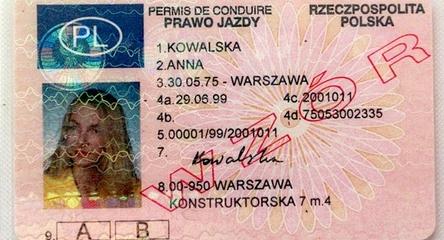 Lewe prawo jazdy - bez kursu i egzaminu!