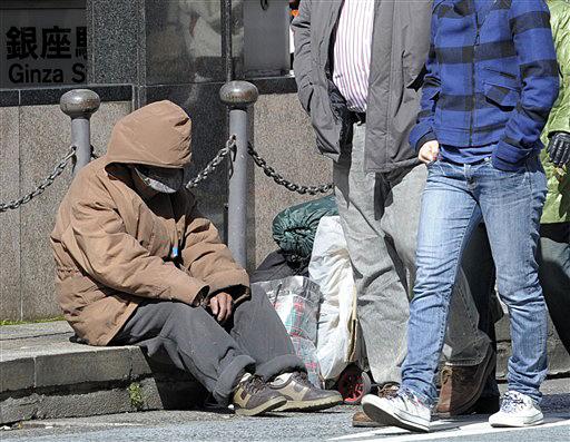 Bezdomni Polacy marzną na wiedeńskich ulicach - WP Wiadomości