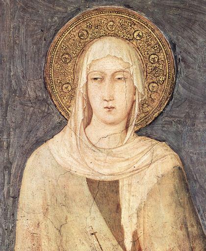 9. Św. Klara z Asyżu