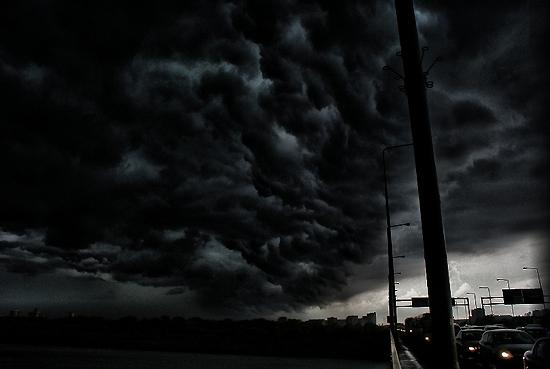 Czarne Chmury Nad Gniewczyna