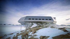 Antarktyda: nowoczesna stacja badawcza
