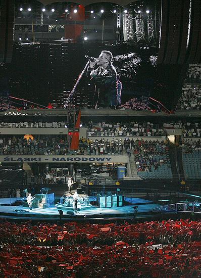 U2 zagra� dla 70 tysi�cy - zobacz zdj�cia