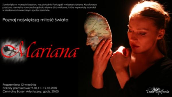 """Spektakl """"Mariana. Listy Portugalskie"""""""