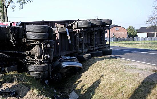 Wypadek w Morawinie