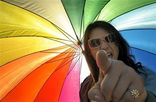 Parada gej�w w Argentynie - zdj�cia