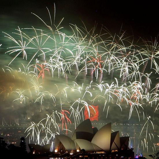 Opera w Sydney i piękne widowisko sztucznych ogni
