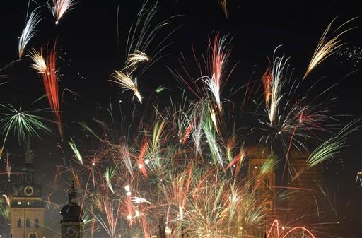 Berlin świętuje nadejście Nowego Roku