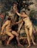 Adam and Eve, 1628/29,  Canvas, 237 x 184 cm,  Madrid, Museo Nacional del Prado © MADRID, PHOTOGRAPHIC ARCHIVE, MUSEO NACIONAL DEL PRADO Courtesy of The Alte Pinakothek, Munich Dzieło było prezentowane podczas wystawy: RUBENS CHALLENGES THE OLD MASTERS: INSPIRATION AND REINVENTION