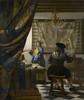 holenderski malarz, barok 1632 – 1675 Sztuka malowania  1666-73  130 x 110 cm  olej na płótnie  Kunsthistorisches Museum, Wiedeń