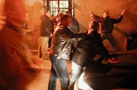 Nocna b�jka w centrum Sopotu: walczy�o 20 os�b
