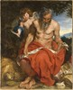Den Helige Hieronymus / St Jerome. c. 1618-20. Olja på duk, 165 x 130 cm  © Foundation Willem van der Vorm Museum Boijmans van Beuningen, Rotterdam; on loan from Foundation Willem van der Vorm Courtesy of Nationalmuseum in Stockholm Dzieło jest prezentowane podczas wystawy: Rubens & Van Dyck