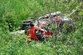 Tragedia na drodze: znany proboszcz zgin�� na motorze