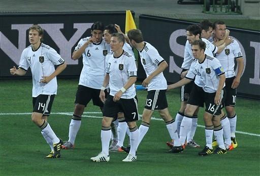 Niemcy po medal!