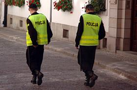 Policjanci coraz częściej w roli ofiar