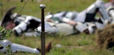 Poszukiwania grobów rycerzy poległych pod ...