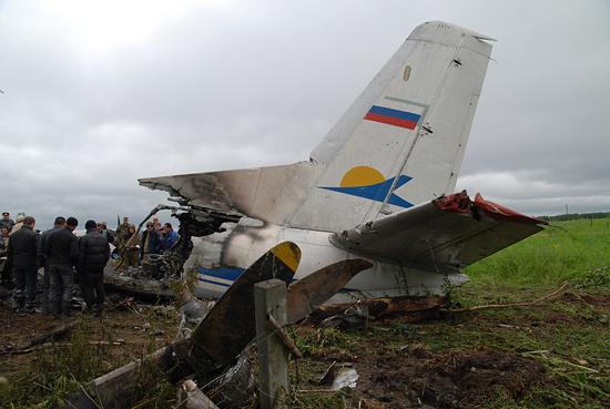 俄罗斯一架小型客机坠毁乘客和机组人员全部遇难