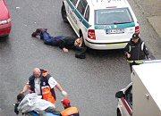Miejsce strzelaniny w Bratysławie