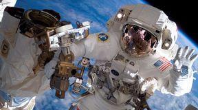 Ciężkie życie astronauty