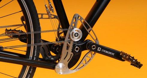 Koniec brudnych nogawek - rower bez �a�cucha