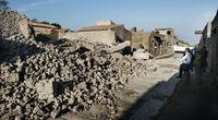 Pompeje w gruzach