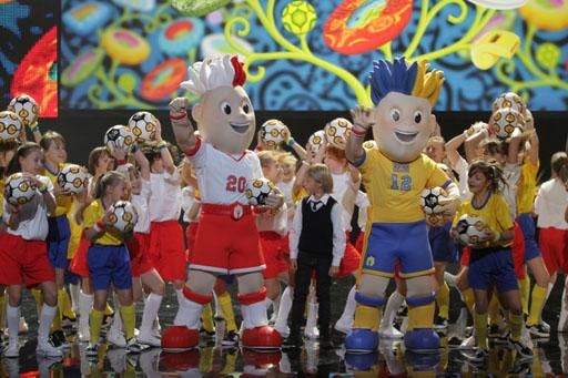 Zaprezentowano maskotki Euro 2012