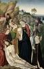 W Kolonii zobaczymy obrazy smutku i rozpaczy: najpierw scena z martwym Chrystusem i opłakującymi go najbliższymi XV-wiecznego Mistrza...   Meister der hl. Sippe d.J. (tätig in Köln, um 1480 – um 1520) und Werkstatt,  Beweinung Christi, um 1483-1485,  Mischtechnik auf Eichenholz, 120 x 78,5 cm,  Wallraf-Richartz-Museum & Fondation Corboud, Köln Courtesy of the Wallraf-Richartz-Museum & Fondation Corboud Dzieło jest prezentowane podczas wystawy: Do or Die. The Human Condition in Painting and Photography / Auf Leben und Tod. Der Mensch in Malerei und Fotografie