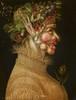 Summer, 1563 oil on panel, 67 x 50.8 cm (26 3/8 x 20 in.) Kunsthistorisches Museum, Vienna Courtesy of National Gallery of Art, Washington Dzieło jest prezentowane podczas wystawy: Arcimboldo, 1526-1593: Nature and Fantasy   Wśród wielu wspaniałych obrazów zobaczycie Państwo na tej wystawie parę portretów 'Lata', które, być może, miały nam uzmysławiać, jaką należy przybierać postać będąc wzywanym do Bardzo Ważnego Szefa. Niewykluczone, że uda się również Państwu od razu dostrzec samego owego Dygnitarza: Arcimboldo opisywał go czasami pieszczotliwie jako 'Piccolo Bamboche': po formacie zapewne go Państwo poznacie…