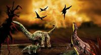 Niektóre dinozaury przeżyły wielkie ...