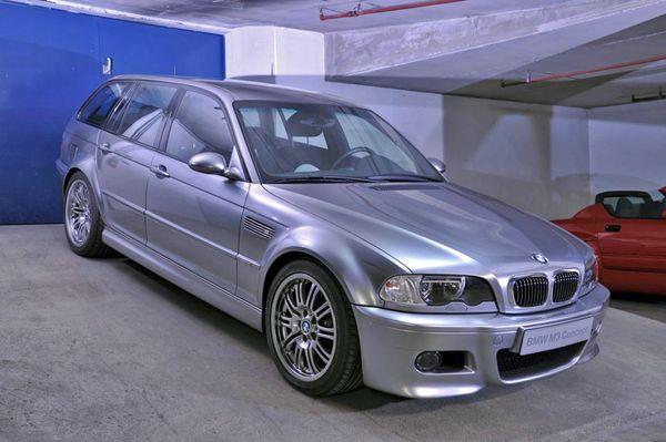 BMW E46 M3 Touring - Tajny garaż BMW M Power - WP Moto