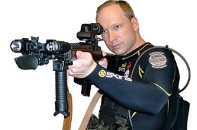 Zabi� 77 os�b i nie czuje si� winny. Rusza proces Breivika
