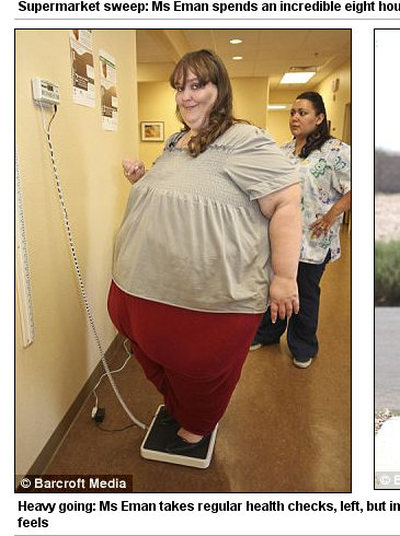 Wa�y ju� 330kg, a nadal tyje!