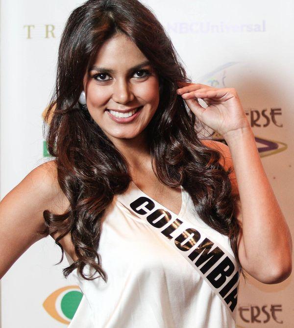 Catalina Robayo, Miss Kolumbii zapomniała bielizny