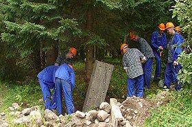 Co robią skazani w Tatrach? Zobacz film