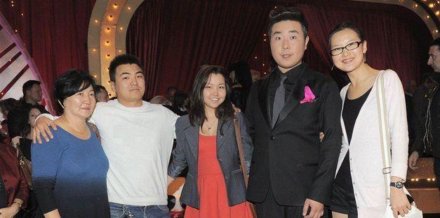 Bilguun bill ariunbaatar celebrity splash saszan
