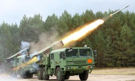 Wyrzutnia rakiet Langusta