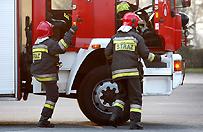 Autokar z dzie�mi zapali� si� na autostradzie A1