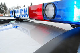 �miertelny wypadek podczas policyjnego po�cigu!