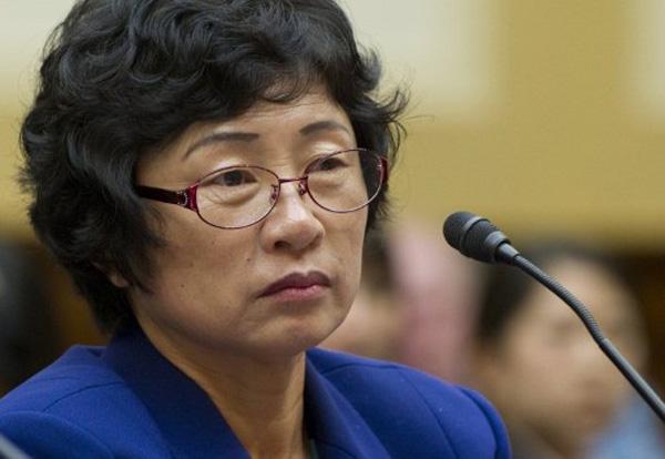 Kim Hye-sook sp�dzi�a w obozie koncentracyjnym 28 lat