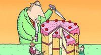 Jak pokroić tort?  Matematyczne zagadki Iana Stewarta